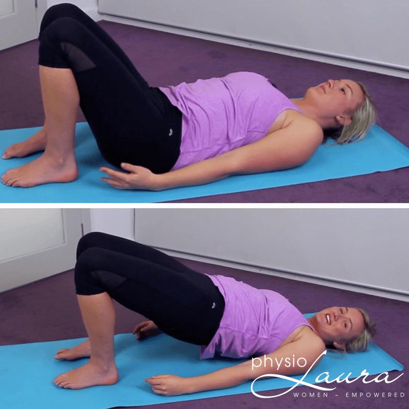 pregnancy bridge exercise
