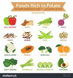 folate rich foods pregnancy